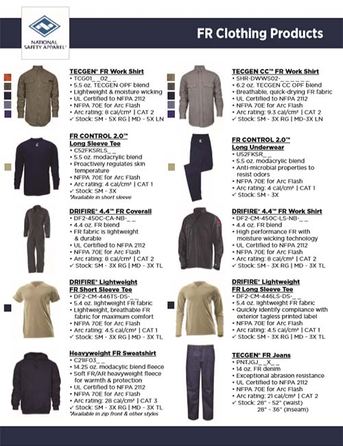 FR Clothing Products Top Sellers NSA